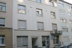 05   MFH Geibelstr. 25, Karlsruhe, Bestand Straßenansicht (vor Sanierung), LP 6-8 als FM