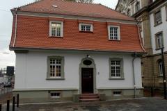 14   Kulturdenkmal KIT Geb. 50.25, Ansicht 2 (nach Dach- und Fassadensanierung), LP 8 als FM