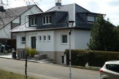30   2-Fam. Whs, Ricarda-Huch-Str. 3, Ettlingen, Straßenansicht (nach Sanierung und Umbau)