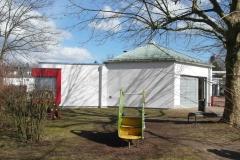 09   Kindergarten Malkasten, Eggenstein, Ansicht 1 (nach Gesamtsanierung), LP 5-8 als AA