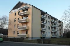 21   MFH Kraichgaustr. 16, Graben-Neudorf, Ansicht 1 (nach der Fassadensanierung), LP 6-8