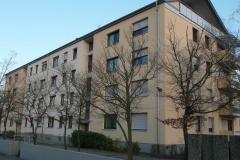 23   MFH Kraichgaustr. 16, Graben-Neudorf, Ansicht 3 (nach der Fassadensanierung), LP 6-8