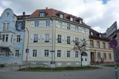 14 | Kulturdenkmal MFH Karlsburgstr. 8, Karlsruhe, Straßenansicht (nach Sanierung)